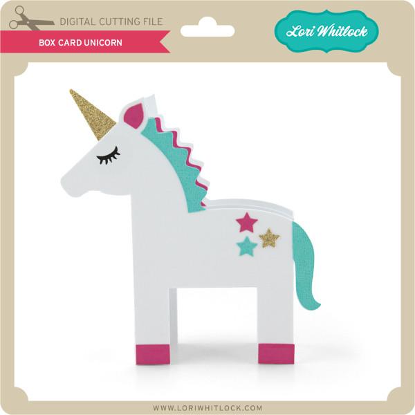 Cute little Unicorn pop up card Box