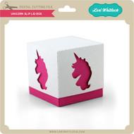 Unicorn Slip Lid Box