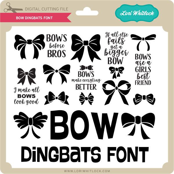 Bow Dingbats Font