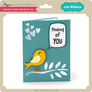 Sympathy Card Thinking of You