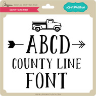 County Line Font