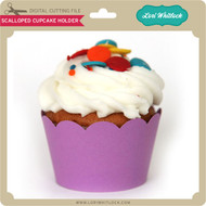 Scalloped Cupcake Holder