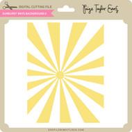 Sunburst Rays Background 2