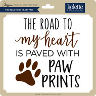 The Road to My Heart Paw