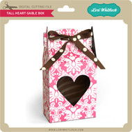 Tall Heart Gable Box