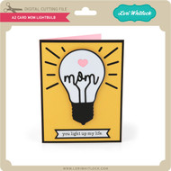 A2 Card Mom Lightbulb