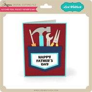 A2 Card Tool Pocket Father's Day