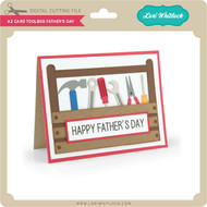 A2 Card Toolbox Father's Day