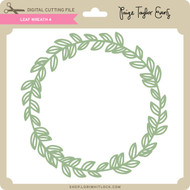 Leaf Wreath 4
