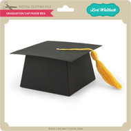 Graduation Cap Favor Box
