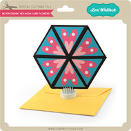 Never Ending Hexagon Card Flowers