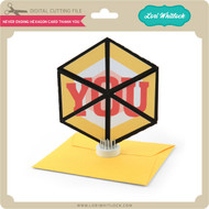 Never Ending Hexagon Card Thank You