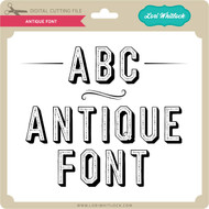 Antique Font