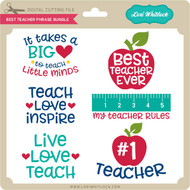 Best Teacher Phrase Bundle