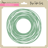 Circles Wreath 2