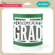 Flexi Card Congrats Grad