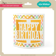 Flexi Card Happy Birthday 2