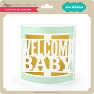 Flexi Card Welcome Baby