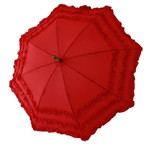 Child's Fifi Red Umbrella Front