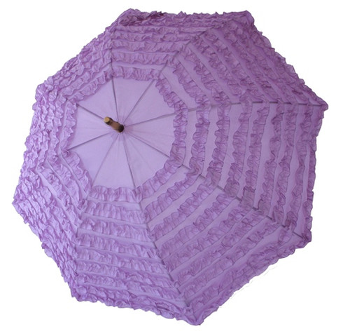 Fifi Purple Umbrella Front