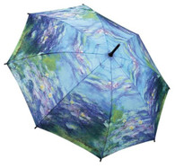 Compact Water Lilies Umbrella Front