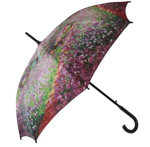Monet Garden Umbrella Side