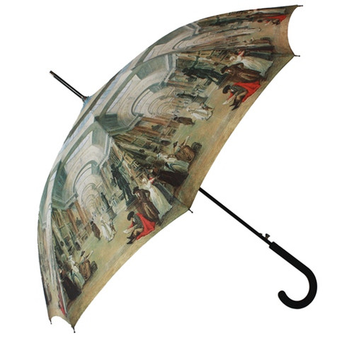 Louvre Umbrella Side