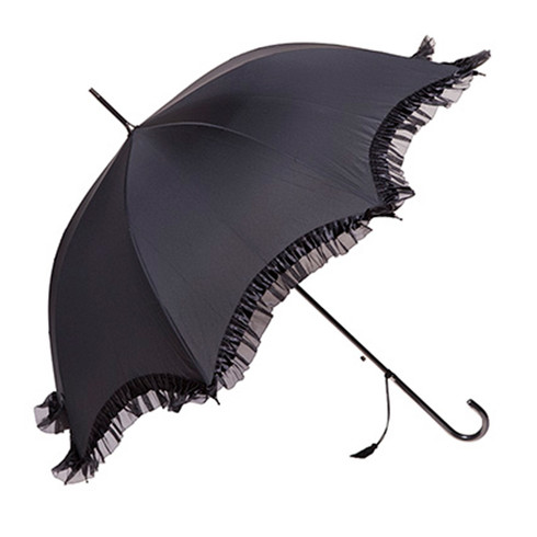 Gigi Black Umbrella  Side