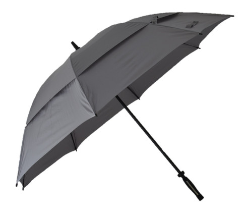 Platinum Vented Golf Umbrella Side