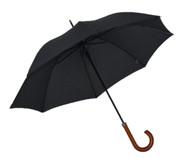 Classic Pinstripe Umbrella Side