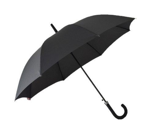 Classic Grey Umbrella Side