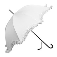 Gigi White Umbrella Side