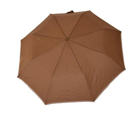 Compact Chocolate Umbrella Front