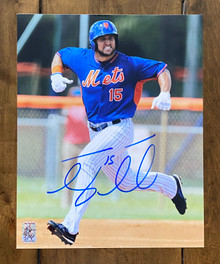 Tim Tebow Autographed New York Mets 8x10 Photo