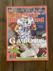 Tim Tebow Florida Gators 2008 National Championship Sports Illustrated