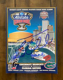 Tim Tebow Florida Gators 2010 Sugar Bowl Program LAST GAME