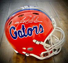 Tim Tebow Autographed Florida Gators Speed Proline Authentic With Inscriptions