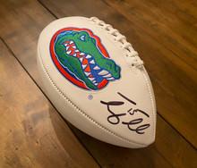 Tim Tebow Florida Gators Autographed Gators Football