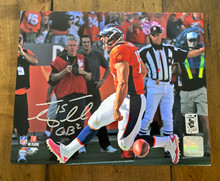 Tim Tebow Denver Broncos Autographed 1st Touchdown 8x10 Photo