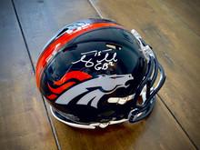 Tim Tebow Autographed Denver Broncos Speed Mini Helmet