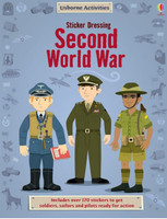 WWII Sticker Book