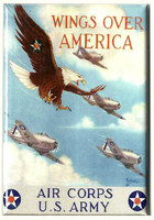 Wings Over America Magnet