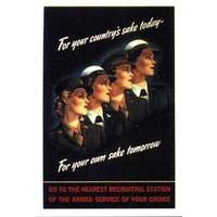 World War II Women Poster