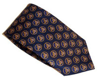 Blue Mighty 8th Tie