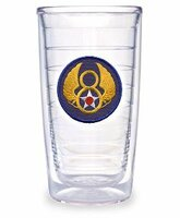 Mighty 8th Logo Tervis Tumbler 16oz.