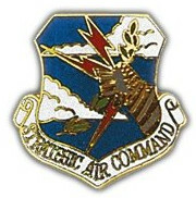 Strategic Air Command Lapel Pin