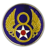 8th Air Force Lapel Pin