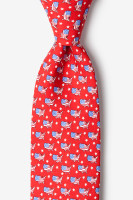 U.S.A. Necktie Red