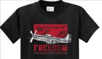 P-51 In Defense of Freedom T-Shirt