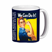 "Rosie ""We Can Do It!"" Coffee Mug"